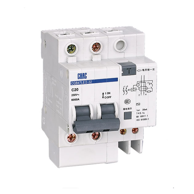 CQB47LE-32 Residual Current Operated Circuit Breaker with Over-current Protection (Electronic)